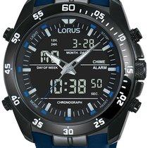 Lorus Steel 46mm Quartz RW631AX9 new