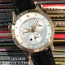 Jaeger-LeCoultre Master Geographic Oro rojo 38.5mm Plata Sin cifras