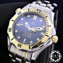 Omega Seamaster Χρυσός / Ατσάλι 36mm Μπλέ