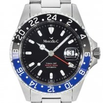 Marcello C. Steel GMT 2040.4.1 new