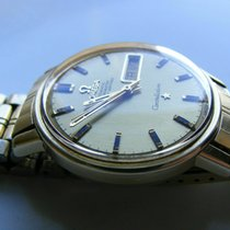 Omega Constellation Day-Date Yellow gold 35mm Silver United Kingdom, London