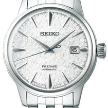 Seiko Presage Steel 40.5mm Silver No numerals United States of America, Ohio, USA
