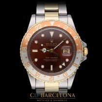 Rolex GMT-Master Acero y oro 40mm Marrón Sin cifras España, Barcelona