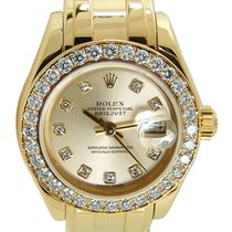 Rolex Lady-Datejust Pearlmaster 80298 Very good