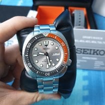 Seiko Steel Grey No numerals