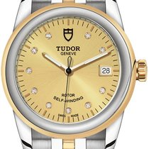 Tudor neu Automatik 36mm Gold/Stahl