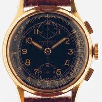 Leonidas Żółte złoto 35mm Chronograf używany