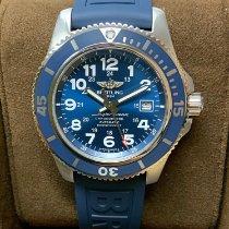Breitling Superocean II 44 Сталь 44mm Синий Aрабские