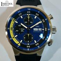 IWC Aquatimer Chronograph Steel 44mm Blue No numerals