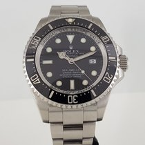 Rolex Sea-Dweller Deepsea Acier 44mm Noir Sans chiffres France, Paris