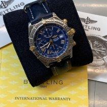 Breitling Crosswind Racing Gold/Steel 44mm Blue Roman numerals
