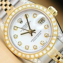 Rolex Lady-Datejust Сталь 26mm Белый