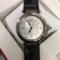 Cartier Pasha nuevo 2006 Automático Reloj con estuche y documentos originales 2727
