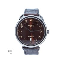 Hermès 41mm Automatic 2015 pre-owned Arceau Brown