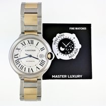 Cartier Ballon Bleu 42mm Gold/Steel 42mm Silver Roman numerals United States of America, New York, NEW YORK