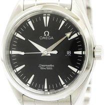 オメガ (Omega) Seamaster Aqua Terra Steel Quartz Mens Watch...