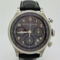 Baume & Mercier Capeland Brown Automatic Mens Watch 65687