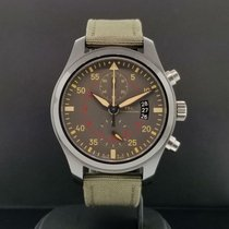 IWC Pilot Chronograph Top Gun Miramar pre-owned 46mm Grey Chronograph Ceramic