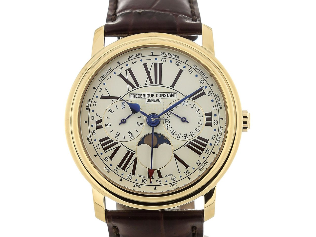 e50a626e092 Frederique Constant Classics Business Timer - all prices for Frederique  Constant Classics Business Timer watches on Chrono24