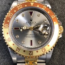 Rolex 40mm Automatic 1990 pre-owned GMT-Master II