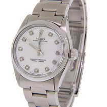 Rolex Steel 31mm Mother of pearl
