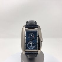 Patek Philippe pre-owned Manual winding 32.4mm Blue Sapphire Glass 3 ATM