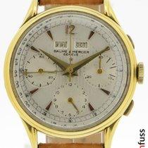 Baume & Mercier Gelbgold 36mm Handaufzug 3902 gebraucht