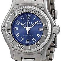 Ebel Discovery Ocel 29mm Modrá Arabské