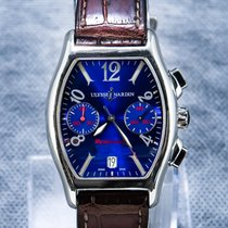 Ulysse Nardin Chronograph 35mm Automatic pre-owned Michelangelo Blue