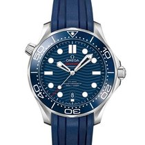 Omega Seamaster Diver 300 M Steel 42mm Blue No numerals United States of America, Iowa, Des Moines