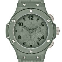 Hublot Big Bang 44 mm new Automatic Chronograph Watch with original box and original papers 301.GI.5290.RG