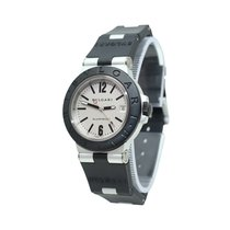 Bulgari pre-owned Automatic 38mm White Sapphire Glass