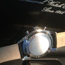 IWC Portuguese Chronograph Staal 41mm Wit Arabisch Nederland, Houten