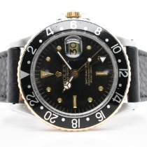Rolex GMT-Master Gold/Steel 40mm Black No numerals United States of America, New York, New York