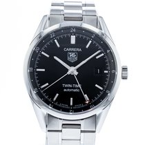 TAG Heuer Carrera Calibre 7 Steel 39mm Black United States of America, Georgia, Atlanta