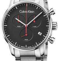 ck Calvin Klein 43mm Kvarts K2G27141 ny
