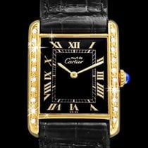 Cartier Tank Vermeil Gold/Steel 23.5mm Black Roman numerals United States of America, Georgia, Suwanee