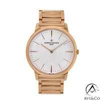 Vacheron Constantin Patrimony Rose gold 40mm White No numerals United States of America, New York, New York