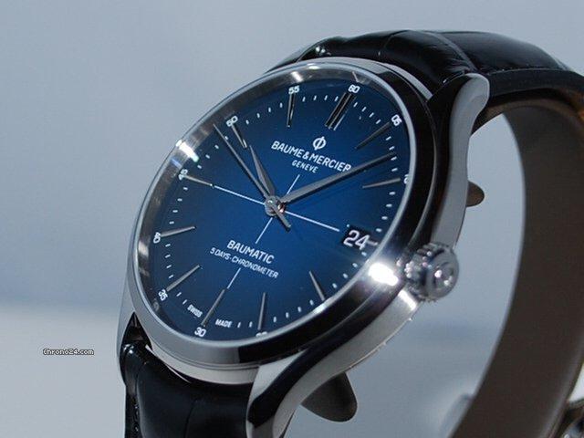 Baume Mercier Baumatic Blue