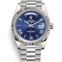 Rolex 228239-0007 Or blanc 2019 Day-Date 40 40mm nouveau