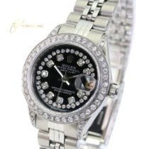 Rolex Lady-Datejust Steel 26mm Silver No numerals