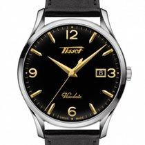 Tissot Steel Quartz Black Arabic numerals 40mm new Heritage Visodate