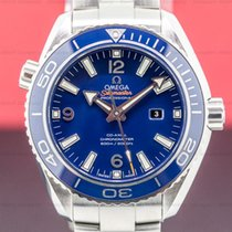 Omega Seamaster Planet Ocean Titanium 38mm Blue Arabic numerals United States of America, Massachusetts, Boston