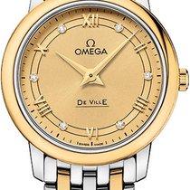 Omega De Ville Prestige новые Кварцевые Часы с оригинальной коробкой