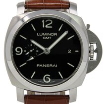 Panerai PAM00320 Steel 2011 Luminor 1950 3 Days GMT Automatic 44mm pre-owned United States of America, Florida, Miami