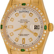 Rolex Day-Date 36 Yellow gold 35mm Silver No numerals United States of America, Texas, Dallas