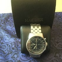 Hacher Chronograph 40mm Automatic 2004 pre-owned Black