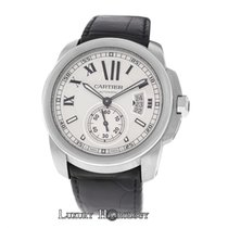 Cartier Authentic Mens Cartier Calibre 3299 Stainless Steel