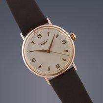 Longines 18ct gold manual watch
