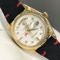 Rolex - Day Date 1804 White Dial YG